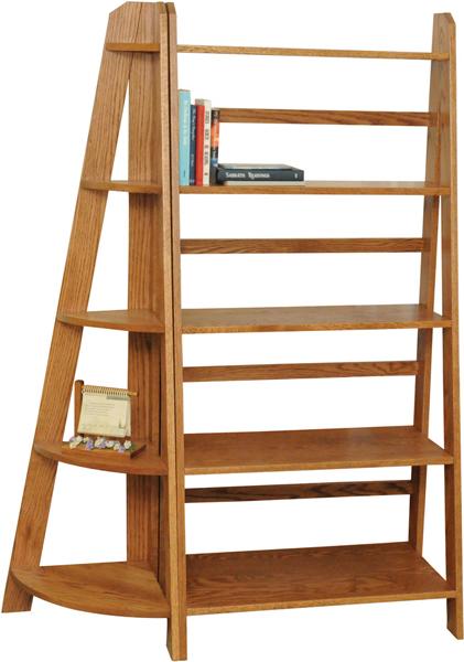 Ladder-Book-Shelf-with-Corner-Book-Shelf