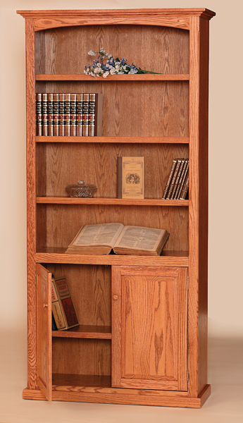 M Bookshelf Bottom Doors