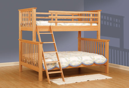 Childrens Furniture Bunk Beds Mission Full Twin