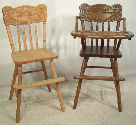 Childrens Furniture Youth and High Chairs