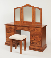 513-Deluxe-Dressing-Table,-812-Stool