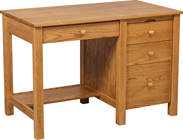 44-Inch-Mission-Single-Pedestal-Desk