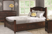 Harmony-Bed-with-optional-Storage-Rails