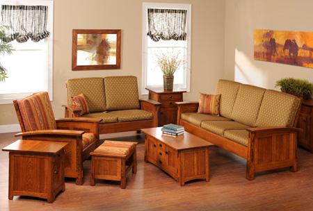 Living Room Olde Shaker Living Room