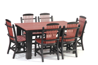 Rectangular-Leg-Table-with-Chairs