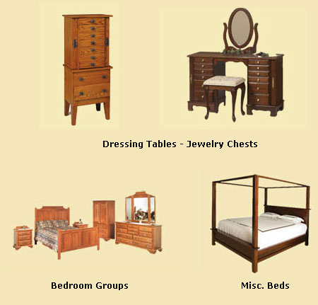 Dressing Tables Jewelry Chests